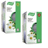 Чай Эвалар черный и зеленый