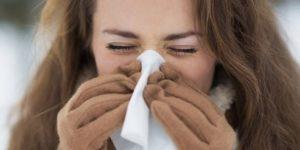 Почему нос «течет» на морозе