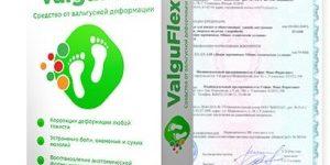 Valguflex от косточки на ноге