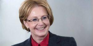 Вероника Скворцова вошла в топ-5 медиарейтинга министров