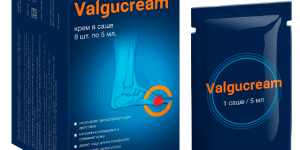 Valgucream крем от косточки на стопе