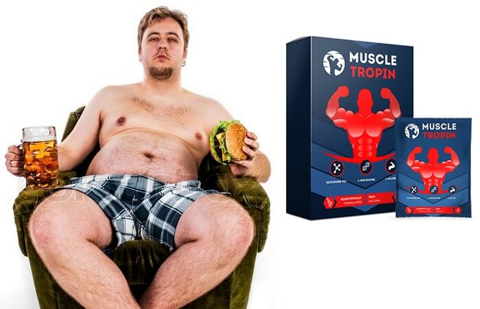 Капсулы Muscle Tropin для похудения