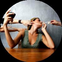 Алкоголь и курение вредят фигуре