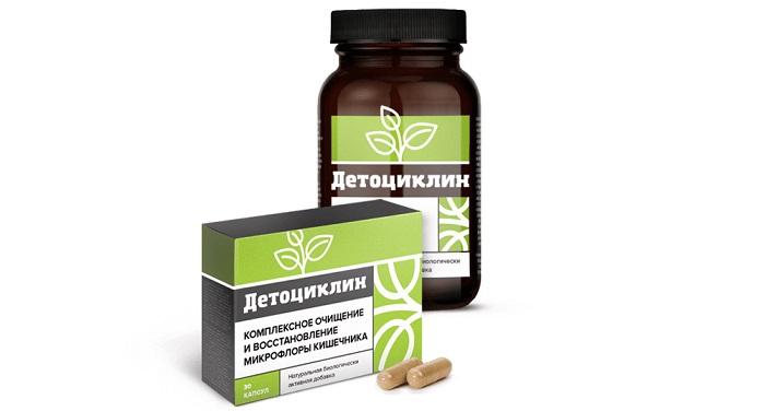 Детоциклин для восстановления микрофлоры кишечника