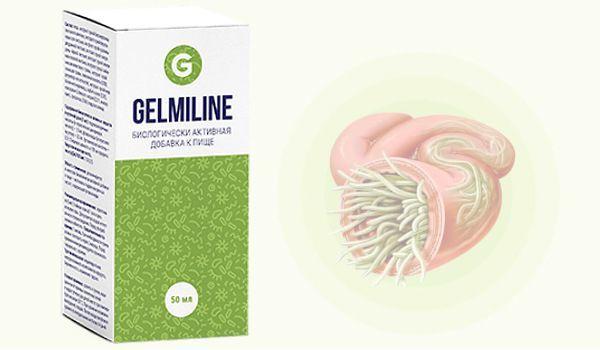 Средство Гельмилайн от паразитов