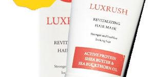 LuxRush — маска для волос с эффектом ламинирования