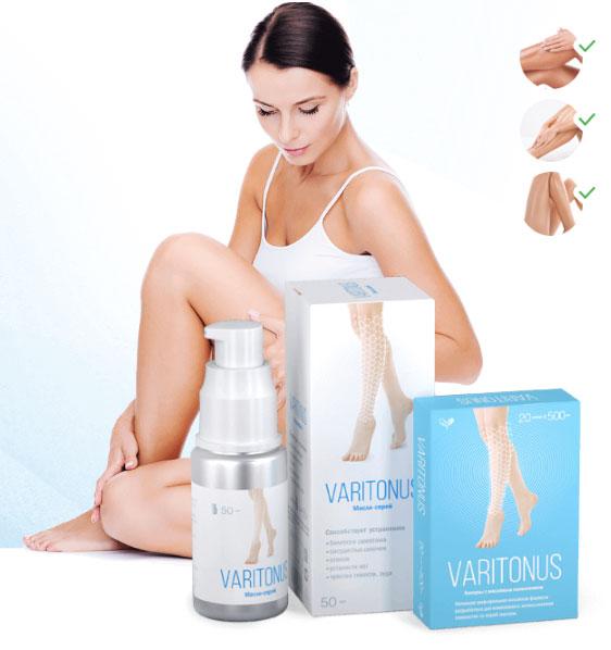 Средство Варитонус от варикоза