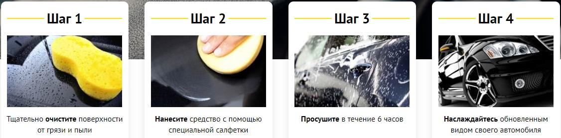 WipeNew использование полироли