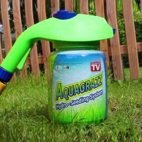 Aquagrazz – средство для быстрого озеленения любого участка