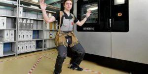Экзоскелет для рабочих произвели в России