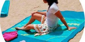 Подстилка ClapSand с уникальной технологией анти-песок для комфортного отдыха на природе