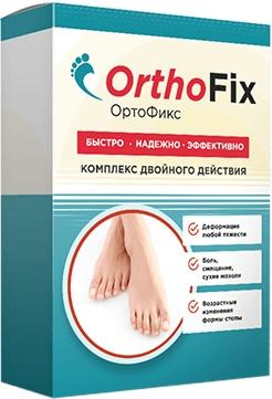 OrthoFix для избавления от вальгусной деформации больших пальцев стоп