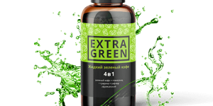 Жидкий зеленый кофе Extra Green