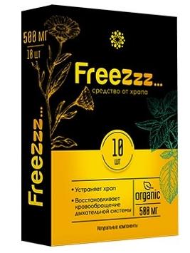 Лечение храпа с помощью таблеток Freezzz