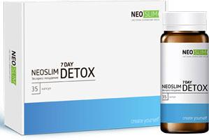 NeoSlim 7 Day Detox для избавления от лишнего веса