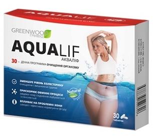 Aqualif для похудения и очищения организма