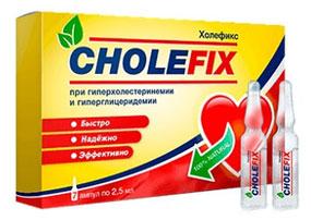 CholeFix очистит организм от холестерина