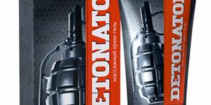 Реальные и отрицательные отзывы о геле Детонатор для мужчин