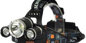Boruit — универсальный налобный фонарь с 3-мя светодиодами