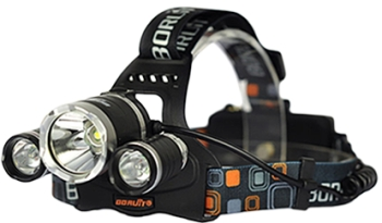 Boruit компактный сверхмощный налобный фонарь