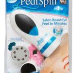 Pedi Spin очистит кожу ступней в несколько минут