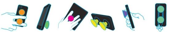 варианты использования держателя для телефона