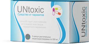 UnToxic – шипучие таблетки и капсулы для выведения паразитов