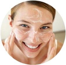 использование альгинатной маски