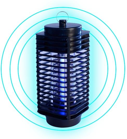 Противомоскитная лампа для защиты от насекомых