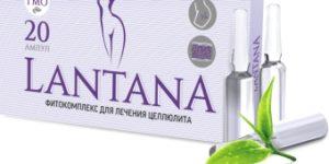 Lantana – фитокомплекс для борьбы с целлюлитом и растяжками
