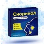 Сноринол (Snorinol) от храпа: отзыв врача
