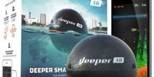 Deeper Fishfinder 3.0 – беспроводной эхолот для рыбалки