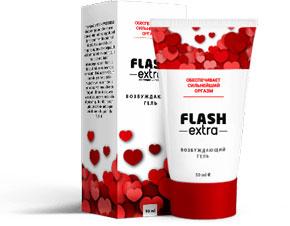 Возбуждающий гель Flash Extra