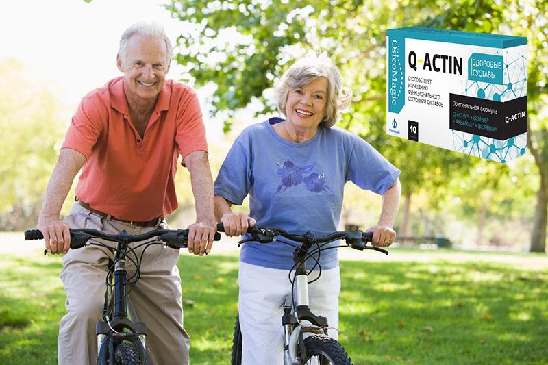 Q-Actin для суставов результаты применения