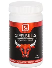 Steel Bulls для лечения импотенции и мужских проблем