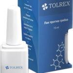 Tolrex – лак для ногтей с противогрибковым эффектом