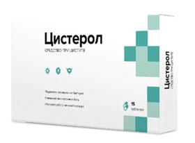 Цистерол – таблетки для лечения и профилактики цистита