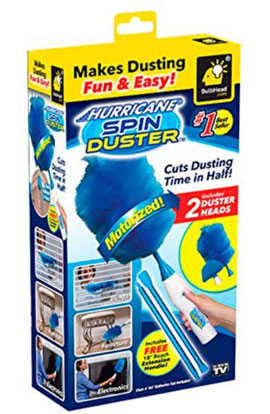 Hurricane spin duster – электрическая щетка для удаления пыли