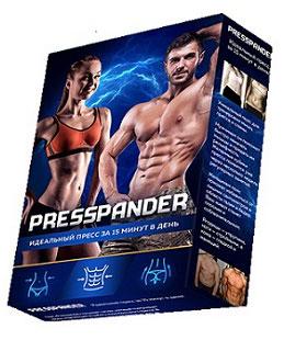 Presspander – пояс для тренировки мышц брюшного пресса