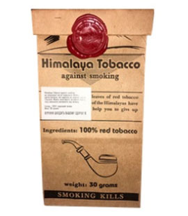 Himalaya Tobacco – табак, который поможет бросить курить