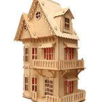 Кукольный домик от Эко Toys – деревянный конструктор для девочек