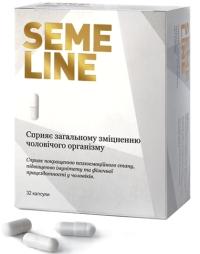 Semeline натуральные капсулы для мужского здоровья