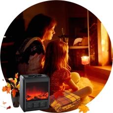 электрокамин для дома, уют и тепло