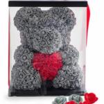 Реальные и отрицательные отзывы о подарке ручной работы Мишка из роз