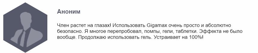 GigaMax отзывы