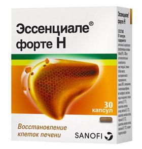 Эссенциале форте Н – препарат, который поможет защитить и восстановить печень