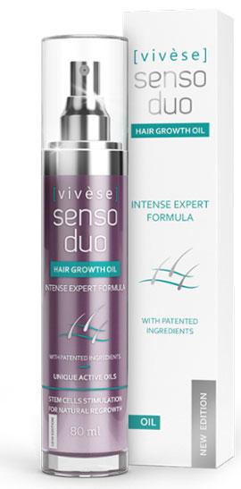 Vivese Senso Duo Oil – лечебное масло для ухода за ослабленными, тусклыми и сухими волосами