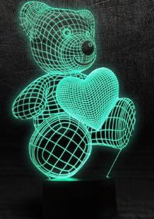 Реальные и отрицательные отзывы о светодиодном 3D светильнике