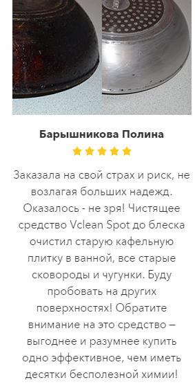 VcleanSpot отзывы