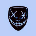 Реальные и отрицательные отзывы о светящейся неоновой маске